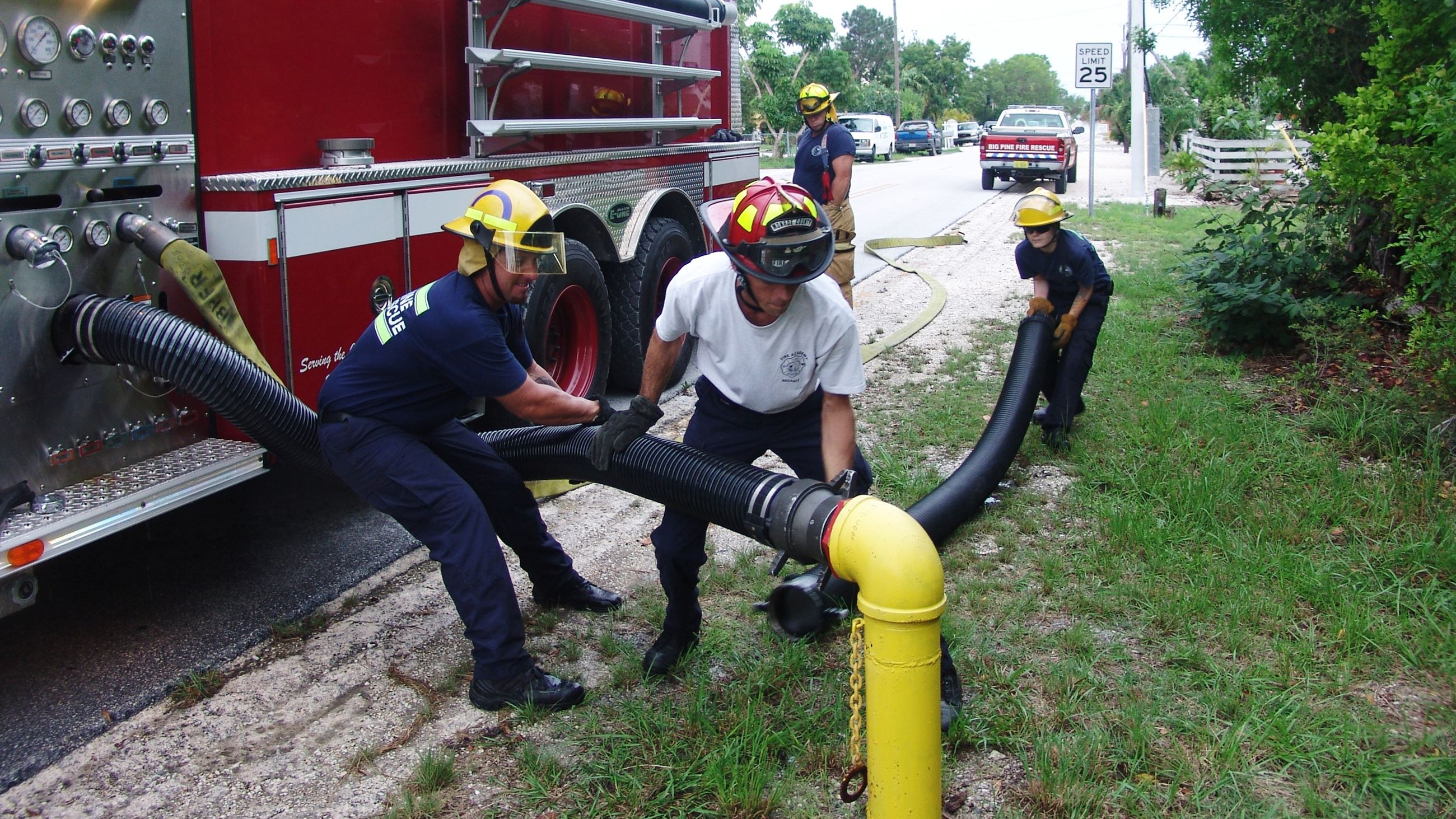 Volunteer Training - Using Water Hose