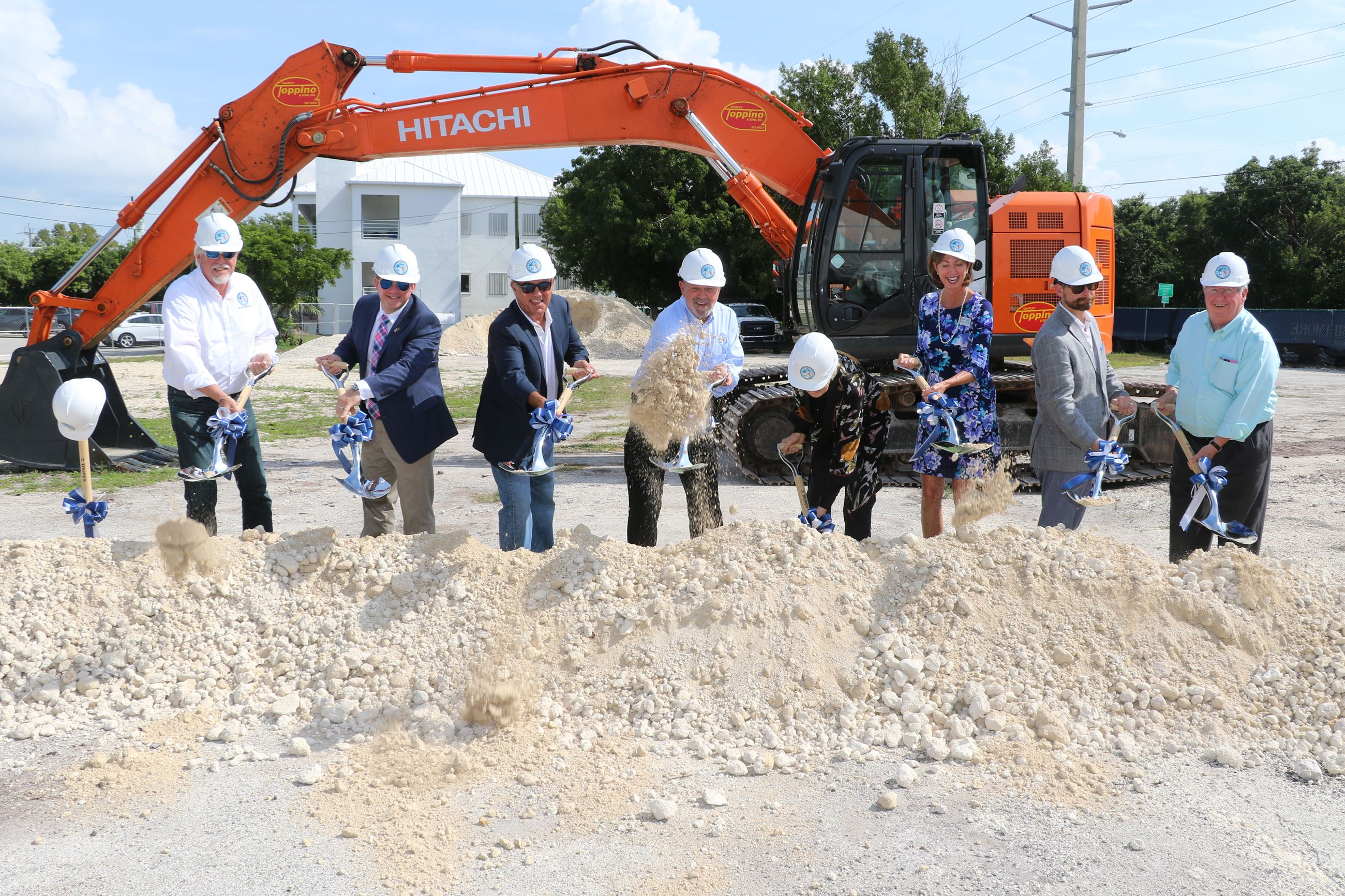 County officials break ground at Plantation Key Courthouse