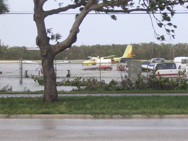 Hurricane Wilma 2005 Flooding at Airport