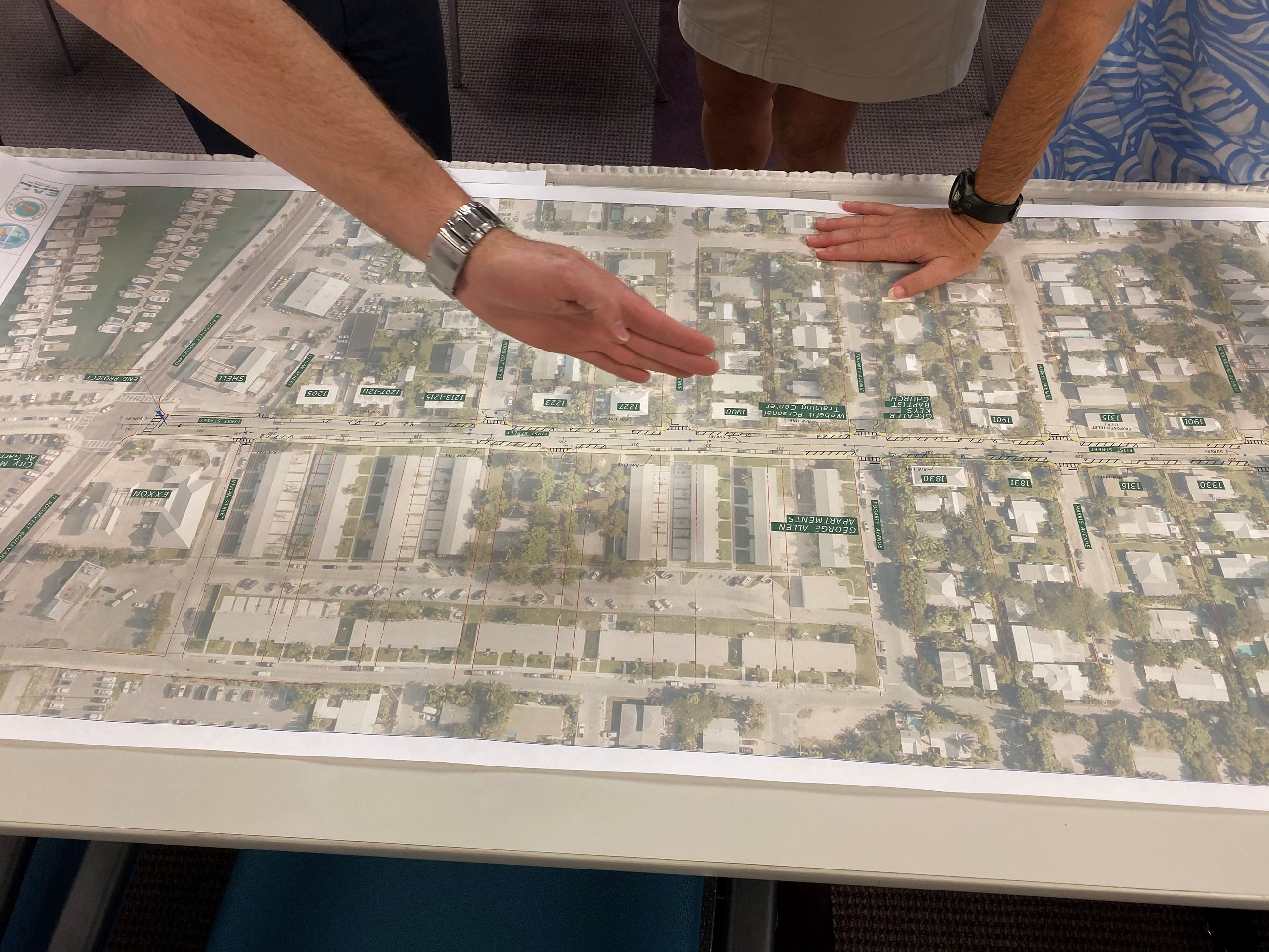 Roadway project design meeting in Key West in November